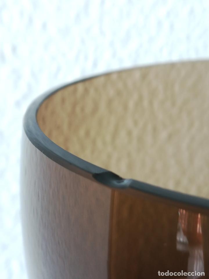 Antigüedades: Copa de cristal de Murano de los años 80, altura 20 cm (con 2 chips) - Foto 8 - 200589661
