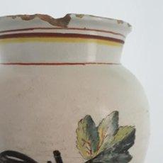 Antigüedades: TARRO DE FARMACIA EN CERAMICA DE RIBESALBES SIGLO XIX. Lote 200607477