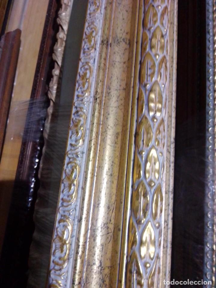 Antigüedades: EXCELENTE MOLDURA DE BUENA CALIDAD. PARA 61X50 (F12). A ESTRENAR. - Foto 3 - 111694983