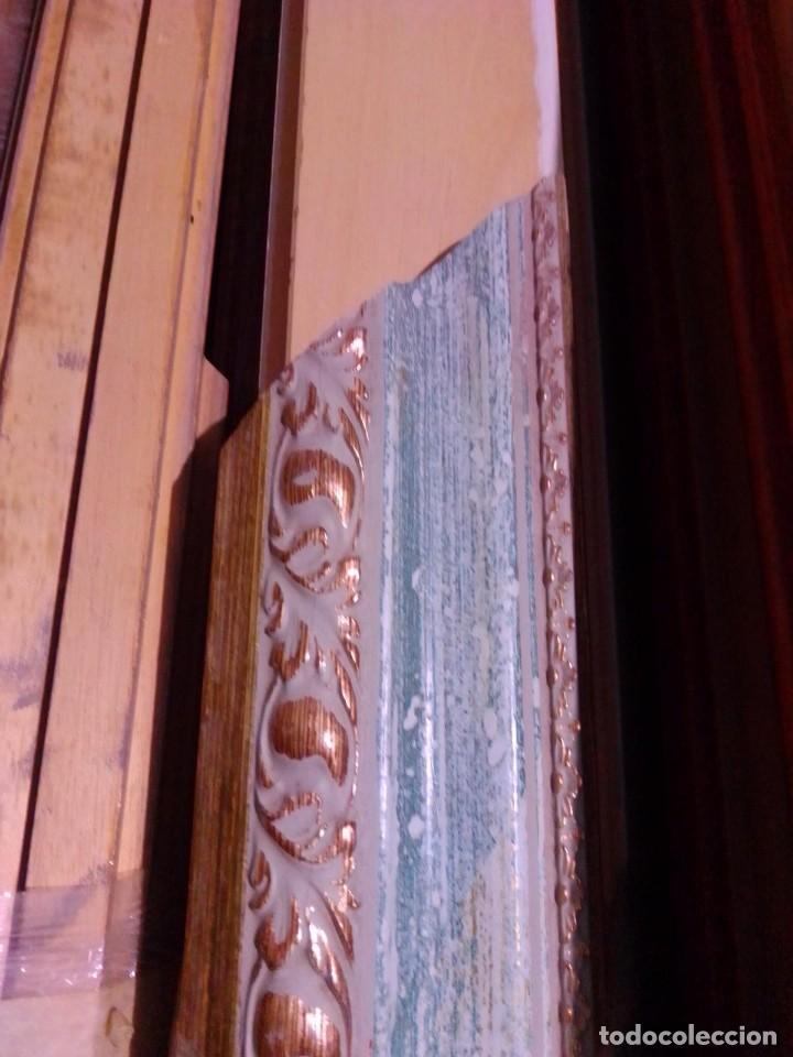 Antigüedades: EXCELENTE MOLDURA DE BUENA CALIDAD. PARA 61X50 (F12). A ESTRENAR. - Foto 4 - 111694983