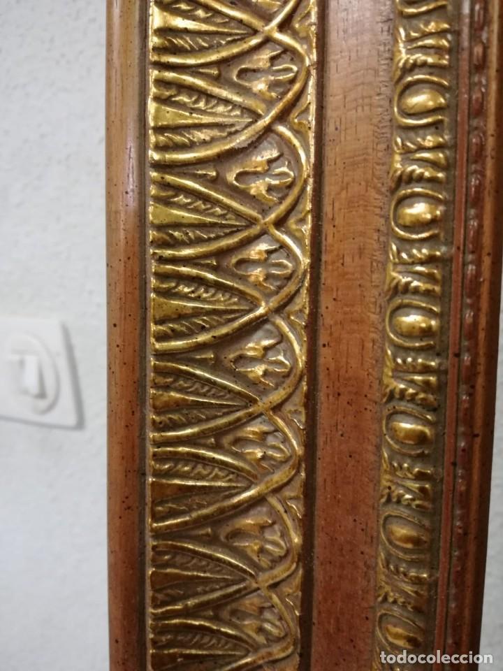 Antigüedades: EXCELENTE MOLDURA DE BUENA CALIDAD. PARA 61X50 (F12). A ESTRENAR. - Foto 8 - 111694983