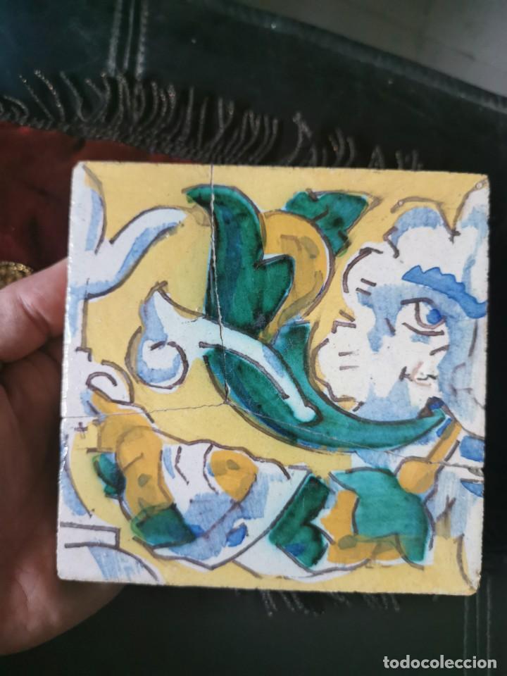 Antigüedades: Azulejo años 20.Jose Lafitte Romero. Triana - Foto 2 - 200661978