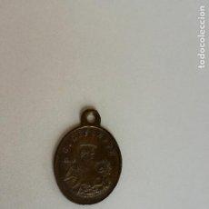 Antigüedades: ANTIGUA MEDALLA RELIGIOSA DE SAN GIUSEPPE Y LA VIRGEN MARIA. MEDIDA: 21 X 15 MM. Lote 200725457