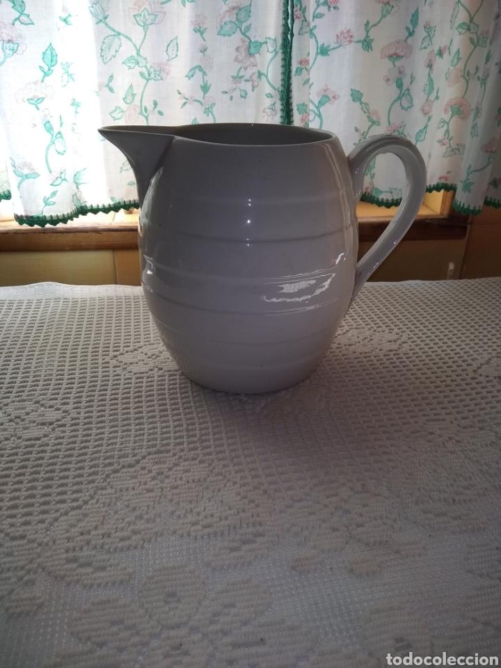 JARRA BLANCA IBERO TANAGRA. SANTANDER (Antigüedades - Porcelanas y Cerámicas - Otras)