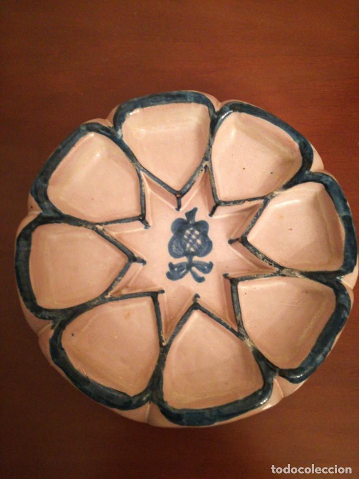Antigüedades: Pieza cerámica Fajalauza Alfar Ntra. Sra. De La Encarnación - Foto 2 - 200759058