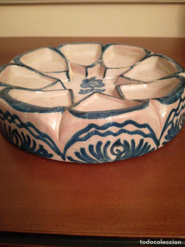 Antigüedades: Pieza cerámica Fajalauza Alfar Ntra. Sra. De La Encarnación - Foto 3 - 200759058