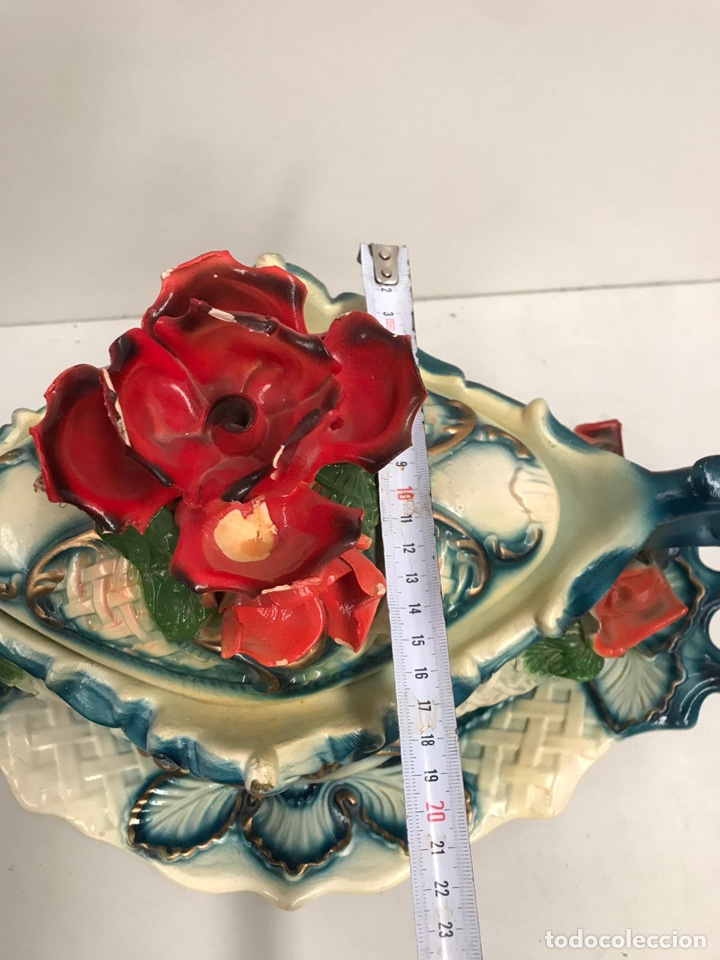Antigüedades: Sopera de porcelana de lujo - Foto 9 - 200759981