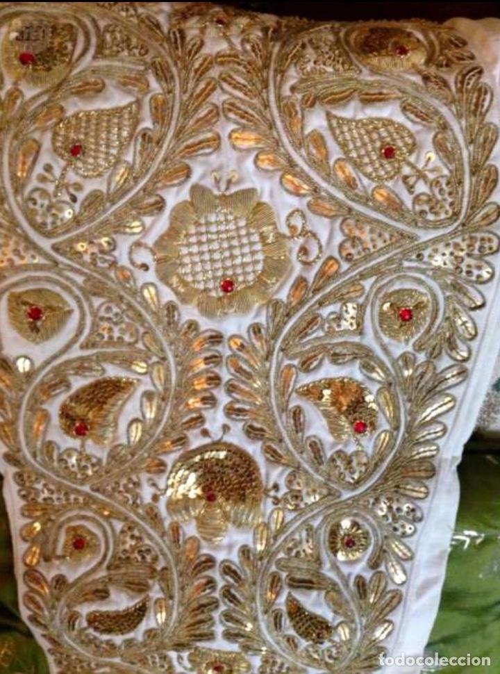 Antigüedades: Traje de Luces 1984 Blanco y Oro - Foto 2 - 200766887