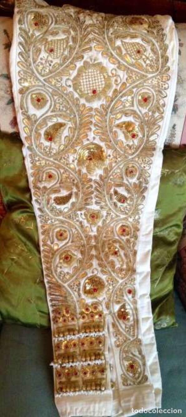 Antigüedades: Traje de Luces 1984 Blanco y Oro - Foto 3 - 200766887