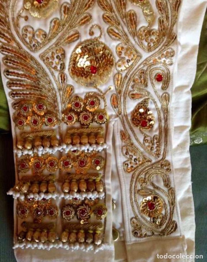 Antigüedades: Traje de Luces 1984 Blanco y Oro - Foto 4 - 200766887