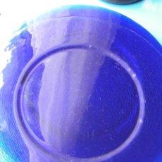 Antigüedades: BAJO PLATOS CRISTAL. Lote 200832400