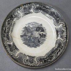 Antigüedades: ANTIGUO PLATO DE CARTAGENA. SIGLO XIX. Lote 200841580