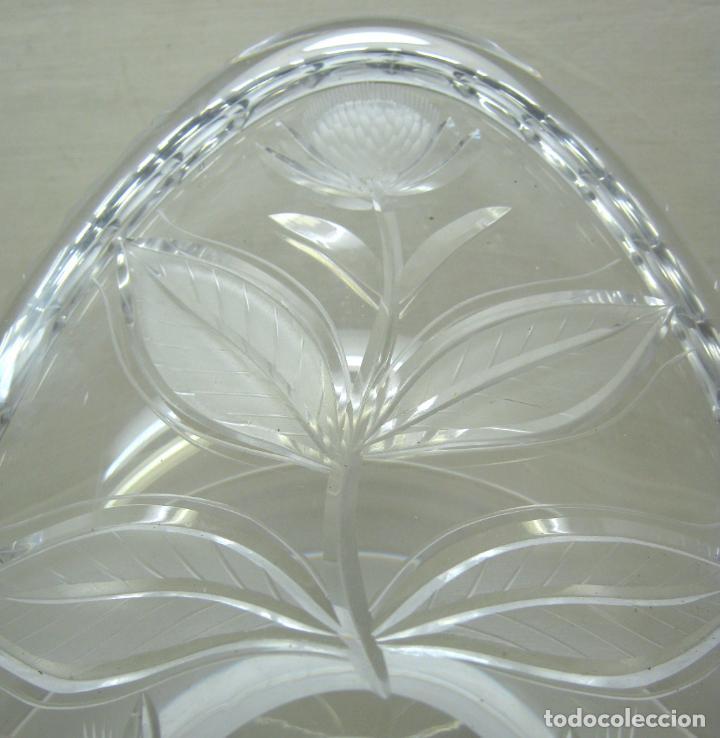 Antigüedades: 50 cm - Espectacular cristal tallado - centro de mesa - Foto 3 - 200858691