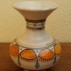 Antigüedades: JARRON TALAVERA SELLADO EN LA BASE. Lote 201104676