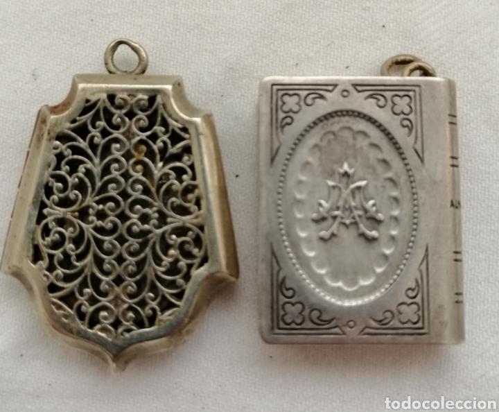 Antigüedades: Dos Antiguos Relicarios. - Foto 2 - 201124558