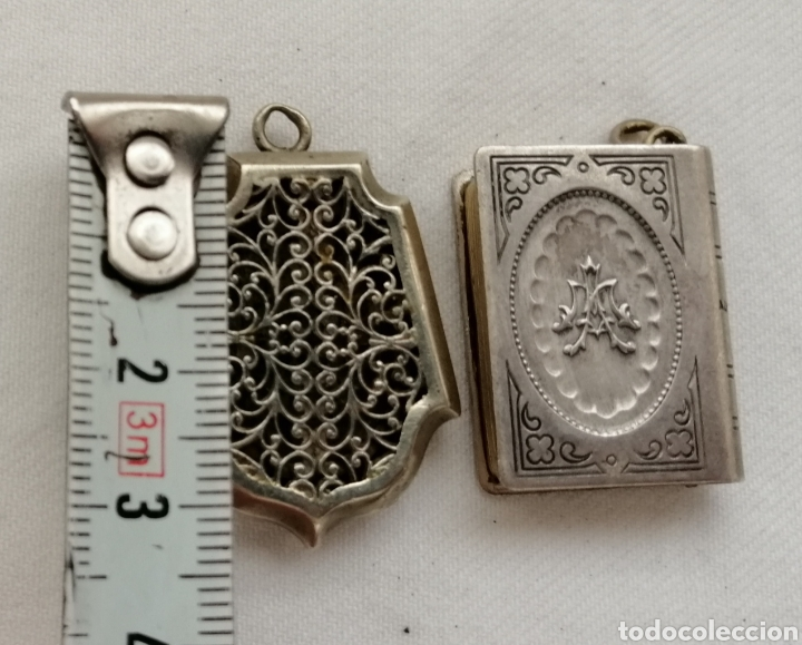 Antigüedades: Dos Antiguos Relicarios. - Foto 3 - 201124558