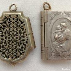 Antigüedades: DOS ANTIGUOS RELICARIOS.. Lote 201124558