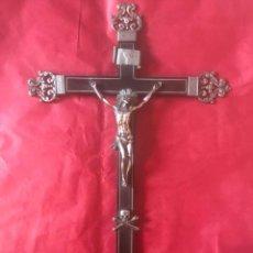 Antigüedades: CRISTO EN LA CRUZ. SIGLO XVIII. (MEXICO - CHIAPAS,POSIBLEMENTE).. Lote 201131765