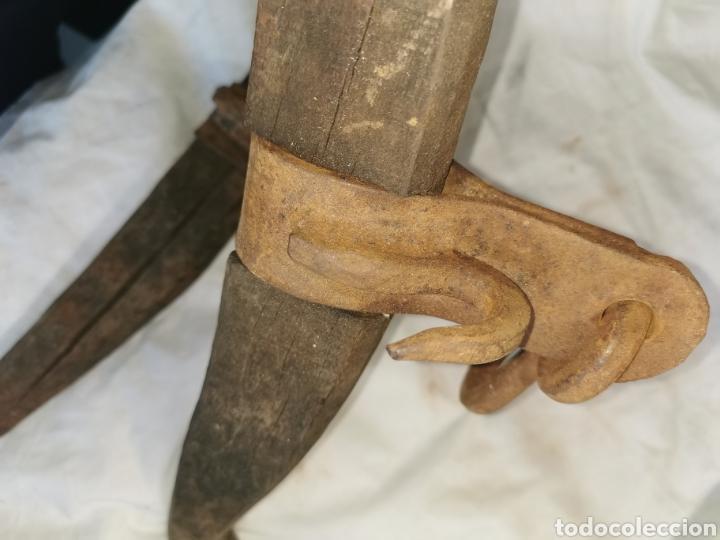 Antigüedades: Pareja de camales de cordero centenarios - Foto 4 - 201145110