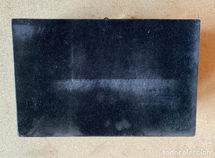 Antigüedades: ANTIGUO ESCRITORIO PORTÁTIL BOULE ,NAPOLEÓN III CON INCRUSTACIONES - Foto 6 - 201149645