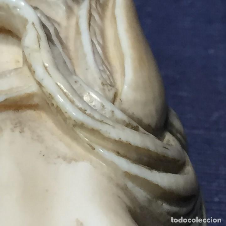 Antigüedades: baston virola plata pomo marfil caballo cabeza calidad ojos vidrio fin s xix ppio s xx 5x11x4cms - Foto 28 - 201164282