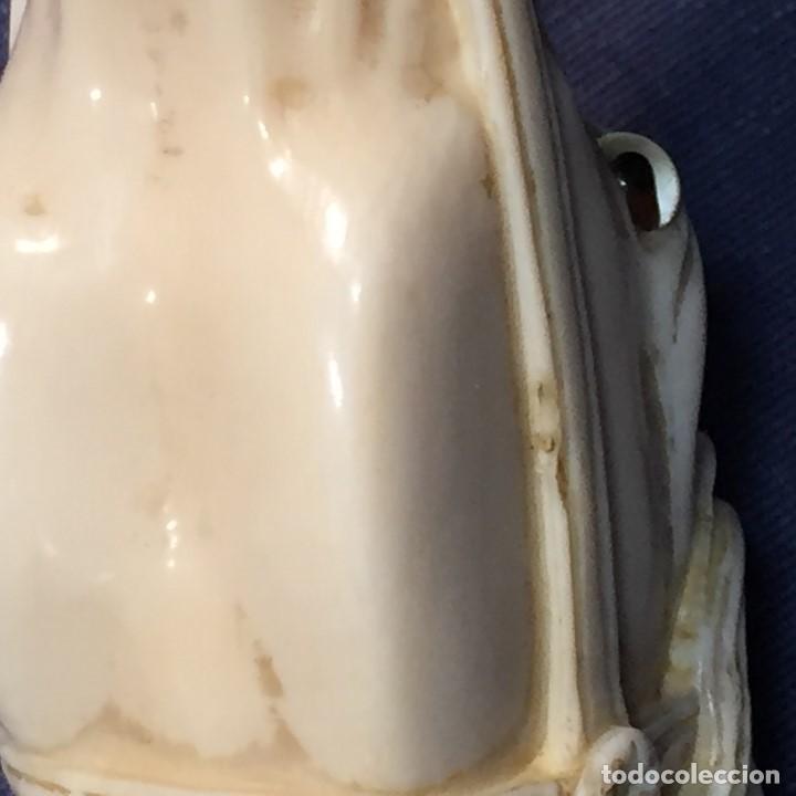 Antigüedades: baston virola plata pomo marfil caballo cabeza calidad ojos vidrio fin s xix ppio s xx 5x11x4cms - Foto 47 - 201164282
