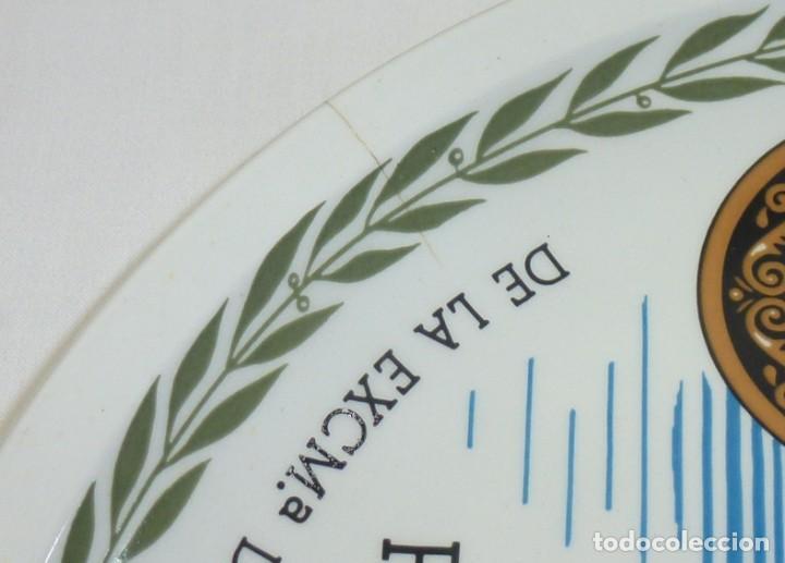 Antigüedades: Plato De Ceramica De La Caja De Ahorros Provincial De Alicante.25 Cm.Royal China Vigo. - Foto 3 - 201172951
