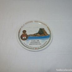 Antigüedades: PLATO DE CERAMICA DE LA CAJA DE AHORROS PROVINCIAL DE ALICANTE.25 CM.ROYAL CHINA VIGO.. Lote 201172951