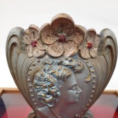 Antigüedades: PRECIOSO FLORERO JARRON MODERNISTA. Lote 201190190