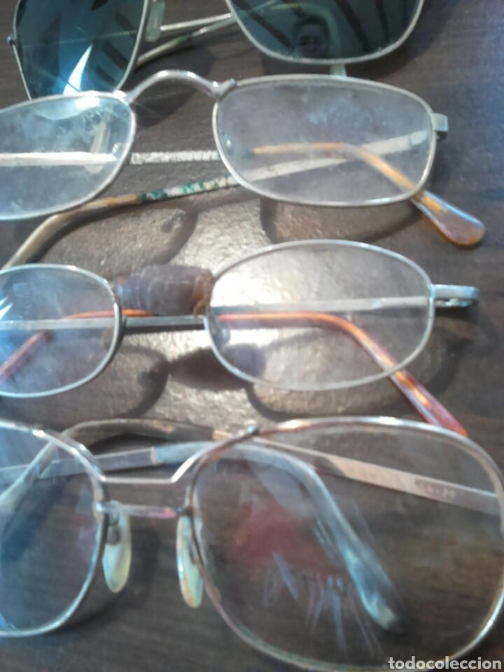 Antigüedades: Lote 5,gafas de ver,una made in italy,frame spain,entre otras - Foto 2 - 201192810
