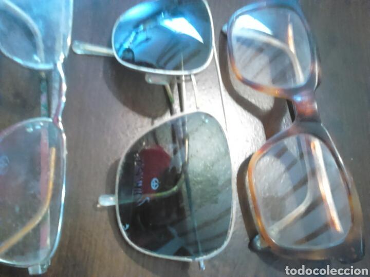 Antigüedades: Lote 5,gafas de ver,una made in italy,frame spain,entre otras - Foto 3 - 201192810