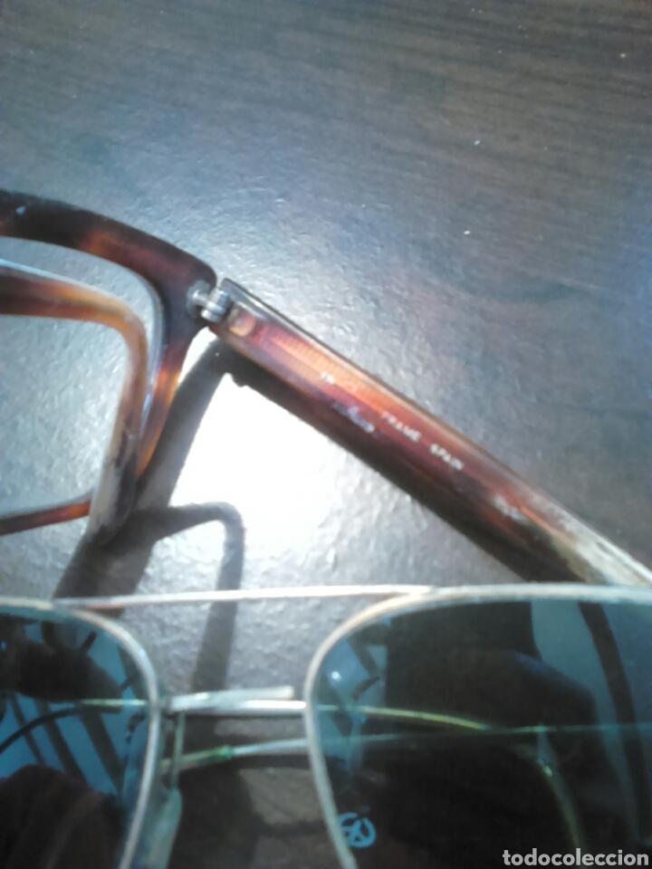 Antigüedades: Lote 5,gafas de ver,una made in italy,frame spain,entre otras - Foto 4 - 201192810