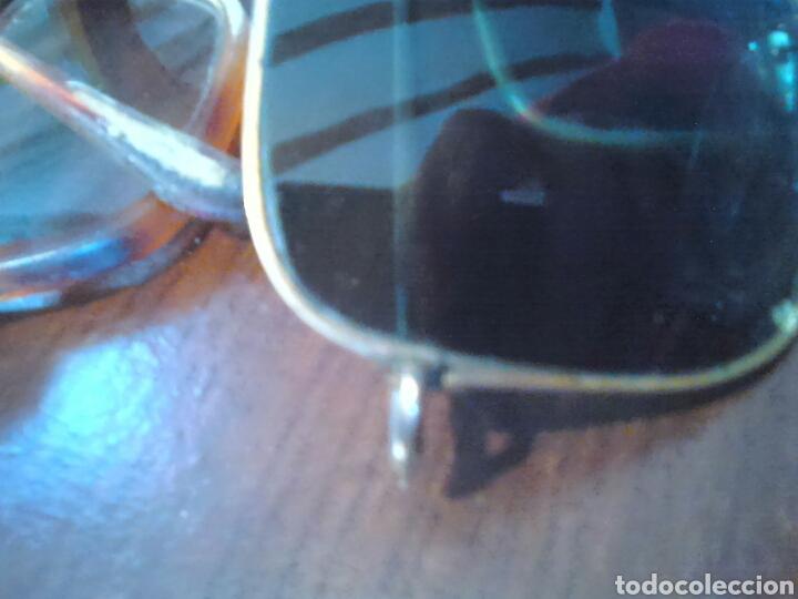 Antigüedades: Lote 5,gafas de ver,una made in italy,frame spain,entre otras - Foto 7 - 201192810