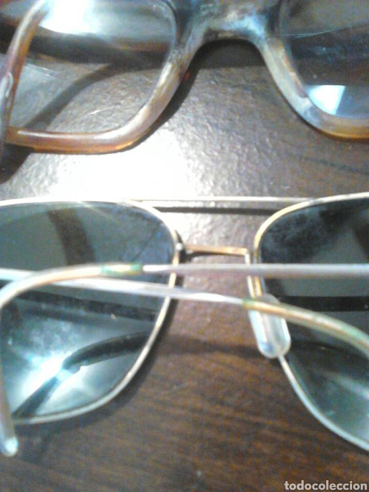 Antigüedades: Lote 5,gafas de ver,una made in italy,frame spain,entre otras - Foto 8 - 201192810