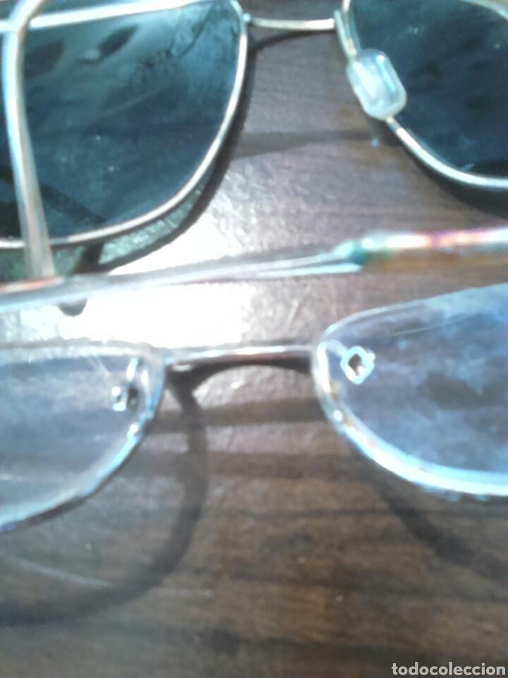 Antigüedades: Lote 5,gafas de ver,una made in italy,frame spain,entre otras - Foto 10 - 201192810