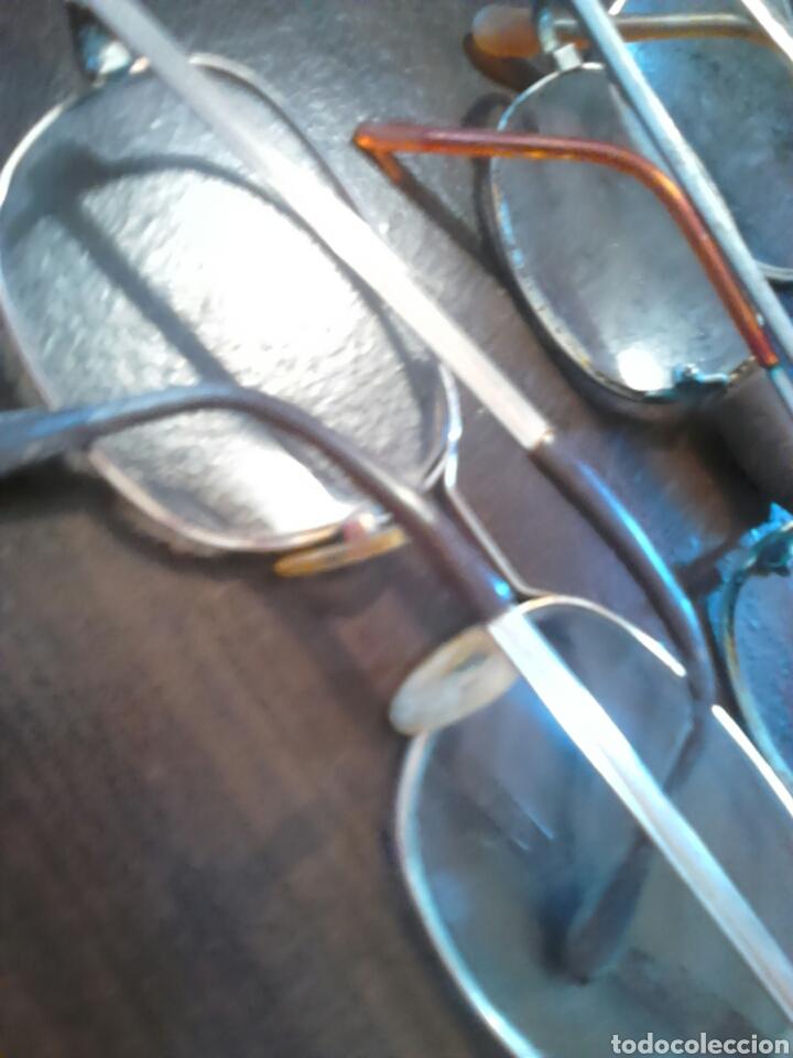 Antigüedades: Lote 5,gafas de ver,una made in italy,frame spain,entre otras - Foto 12 - 201192810