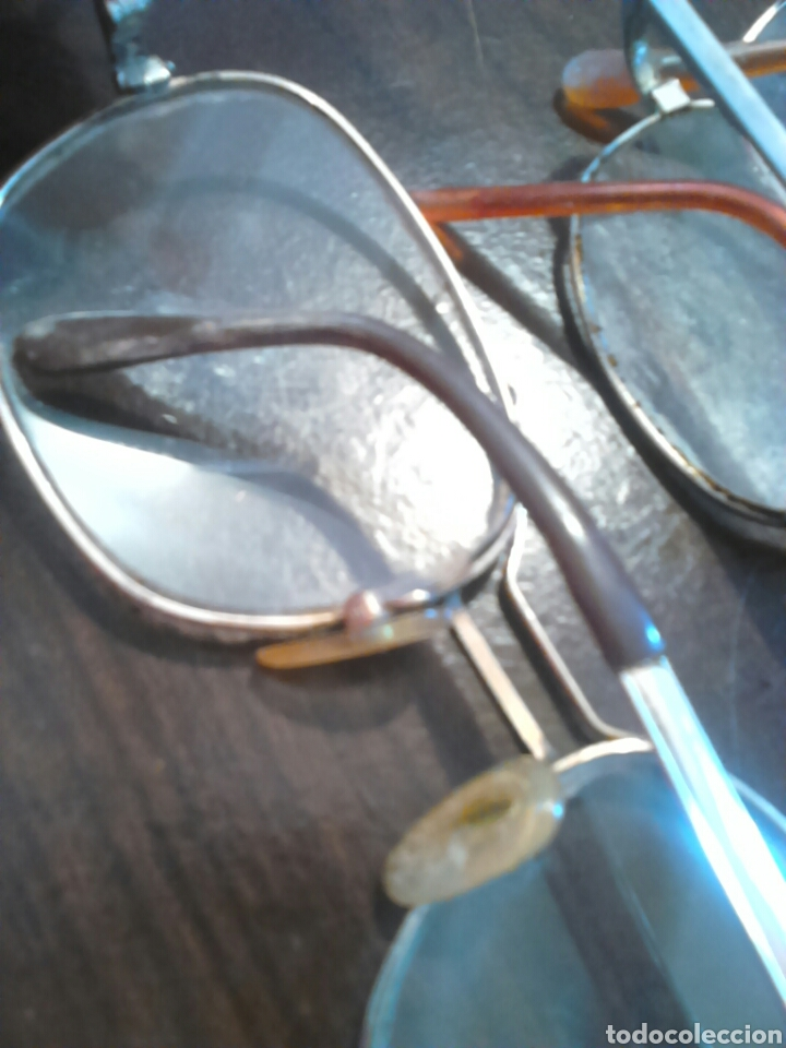 Antigüedades: Lote 5,gafas de ver,una made in italy,frame spain,entre otras - Foto 13 - 201192810