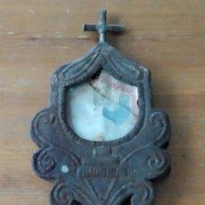 Antiquités: ANTIGUO RELICARIO PROCESIONAL. Lote 201199373