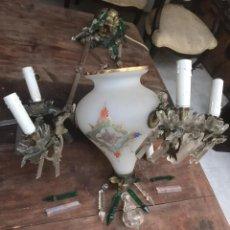 Antigüedades: LAMPARA SIGLO XIX. Lote 201207202
