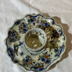 Antiguidades: MANCERINA DE ALCORA SERIE CHINESCOS, S XVIII. Lote 201219746