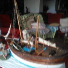 Antigüedades: BARCO PESCA -.MAQUETA .. Lote 201231705