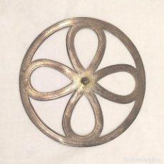 Antigüedades: CORONA DE PLATA PARA IMAGEN AÑOS 50. MED. 9 CM. Lote 201233262
