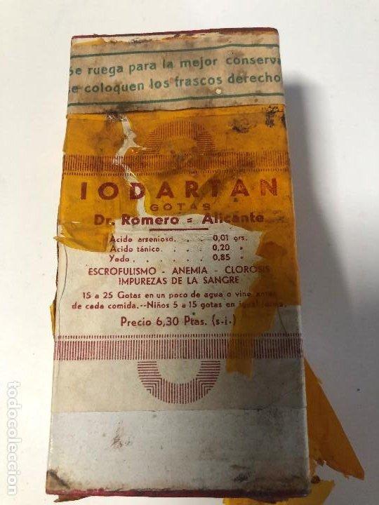 ANTIGUA CAJA SIN ABRIR DE MEDICAMENTO LODARTAN (Antigüedades - Cristal y Vidrio - Farmacia )