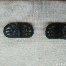 Antigüedades: ANTIGUAS HEBILLAS. Lote 201271375