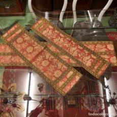 Antigüedades: TRES TAPETES ANTIGUOS. Lote 201281160