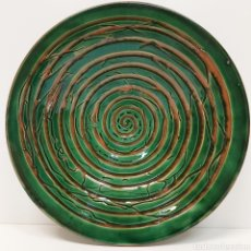 Antigüedades: PLATO CERÁMICA TITO UBEDA. Lote 201285817