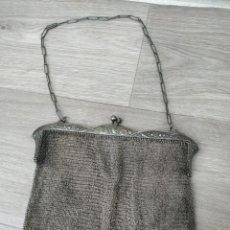 Antigüedades: BOLSO EN COTA DE MALLA. Lote 201291163