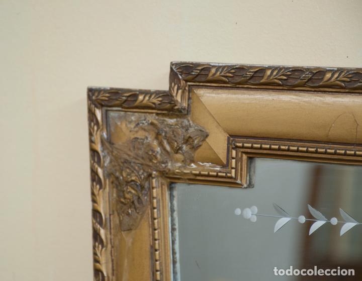 Antigüedades: EXCELENTE ESPEJO DORADO - Foto 3 - 201297672
