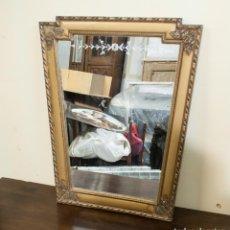 Antigüedades: EXCELENTE ESPEJO DORADO. Lote 201297672