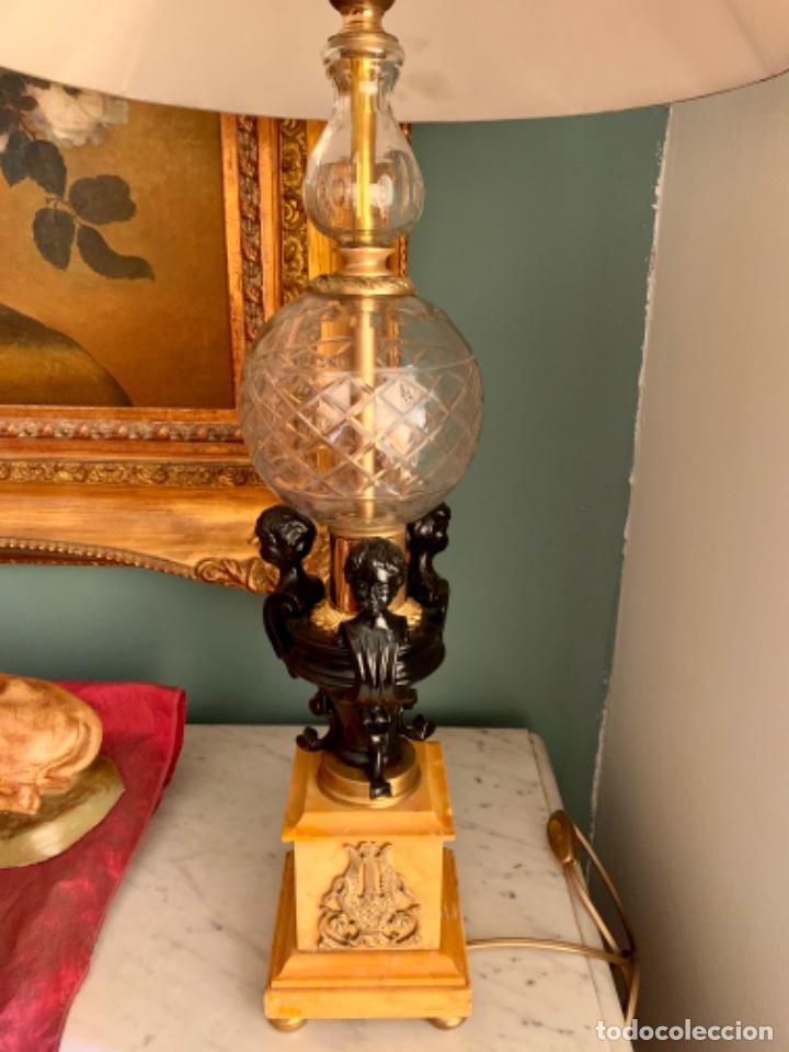 Antigüedades: Soberbia Lámpara antigua - Foto 2 - 201304390